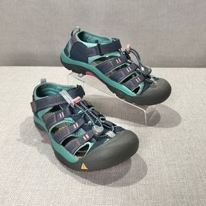 KEEN Newport H2 Waterproof Grey Green Pink Sandals